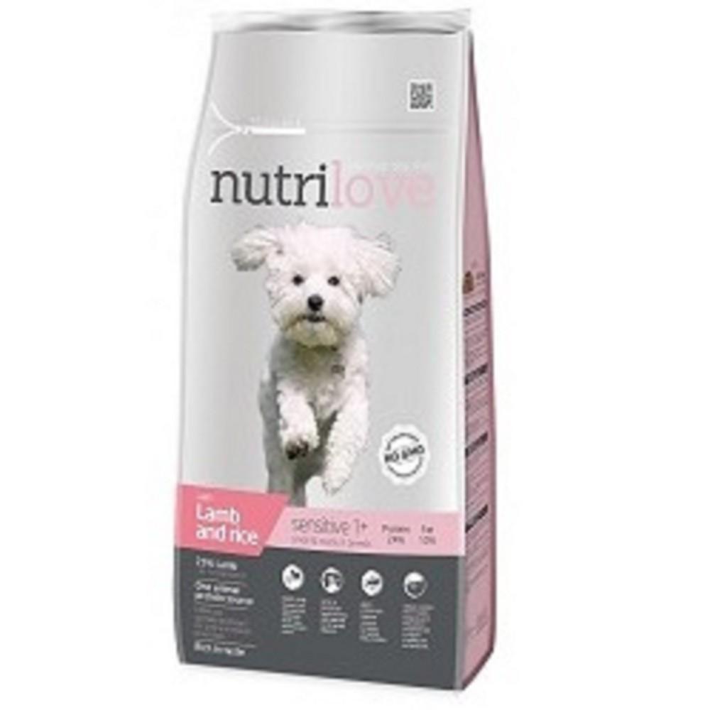 Nutrilove Sensitive jehněčí 8kg