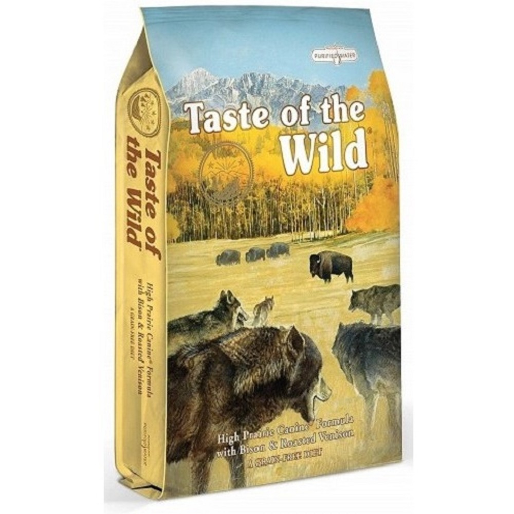 Taste of the Wild - bizon se zvěřinou 18kg