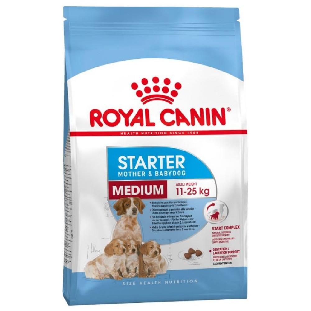 Royal Canin starter mother + babydog  M 12kg