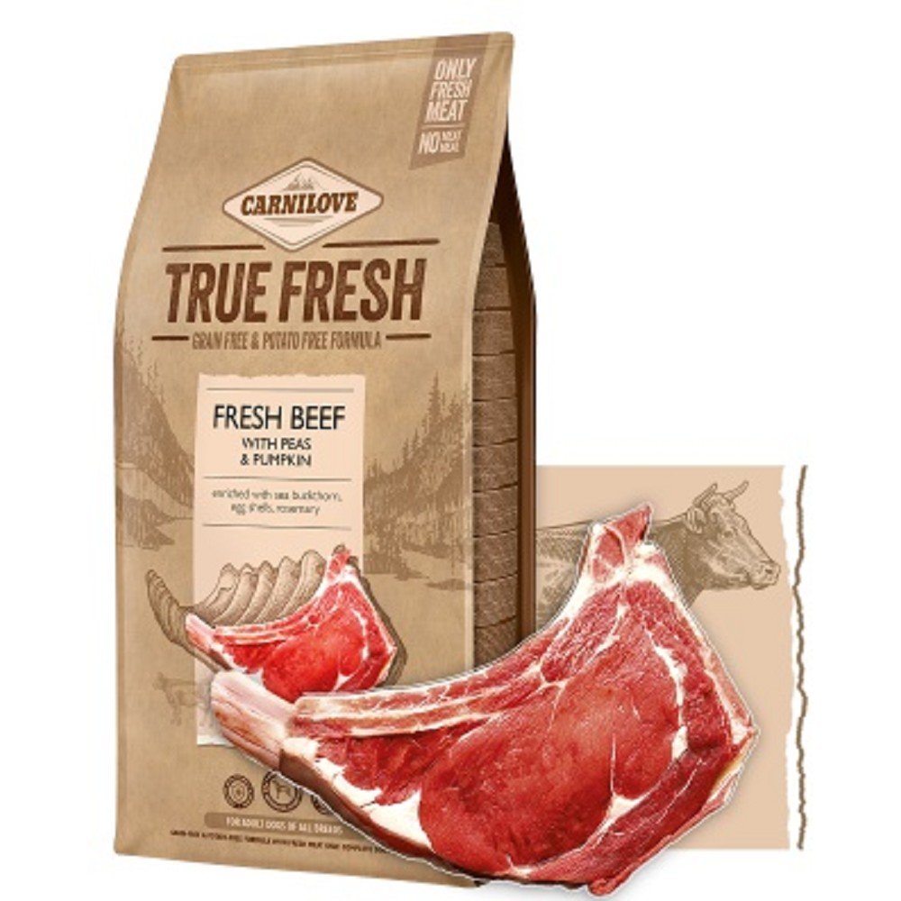 Carnilove TRUE FRESH  hovězí 4kg