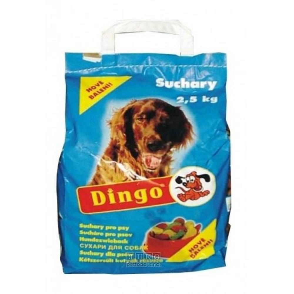 Dingo suchary - přírodní 2,5kg