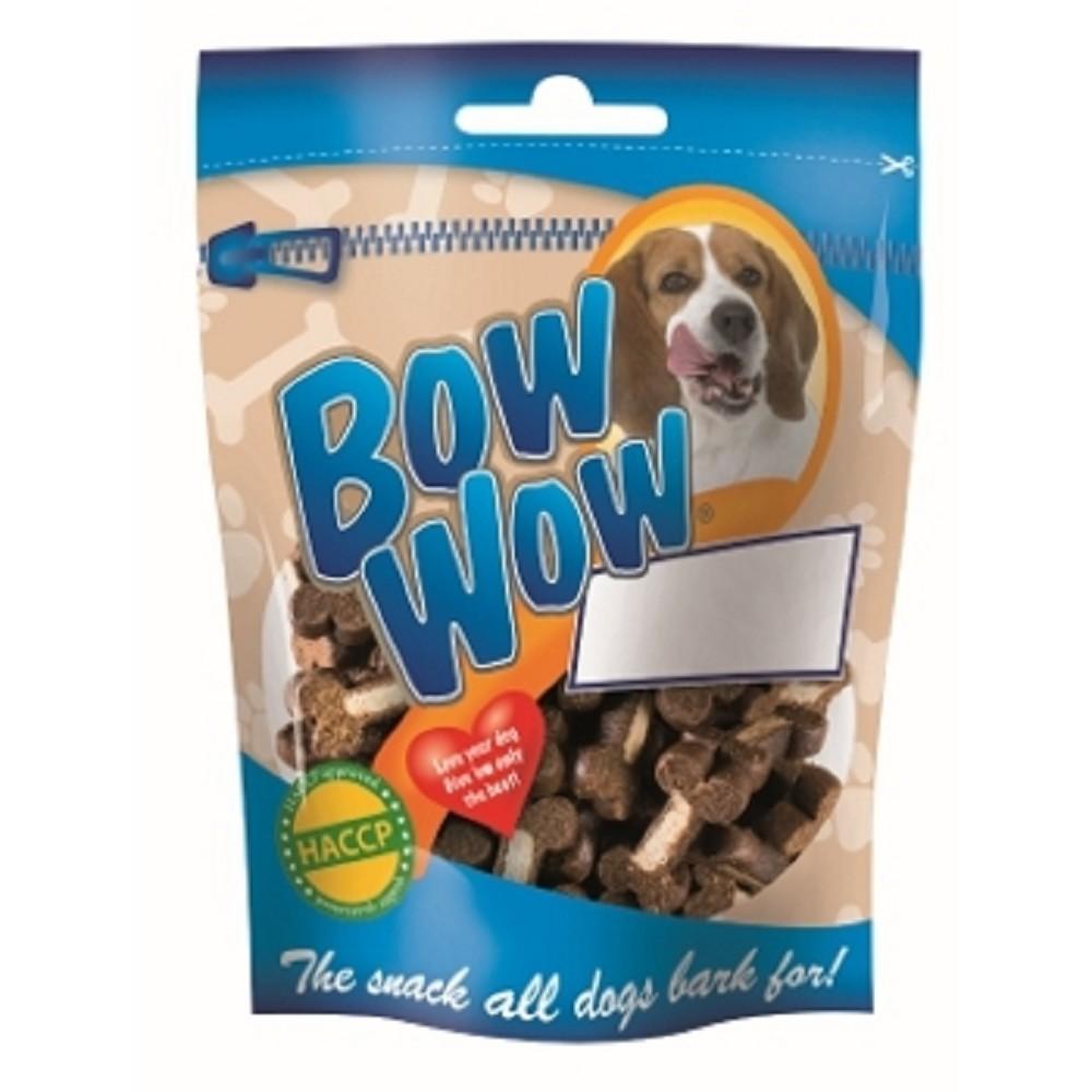 Bow Wow kostičky s drůbežími játry 80g