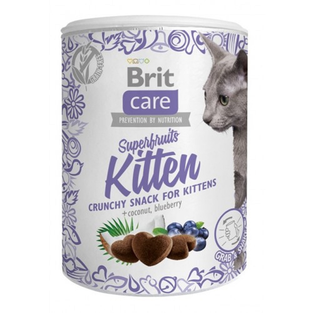 Brit care superfruits pro kotě 100g