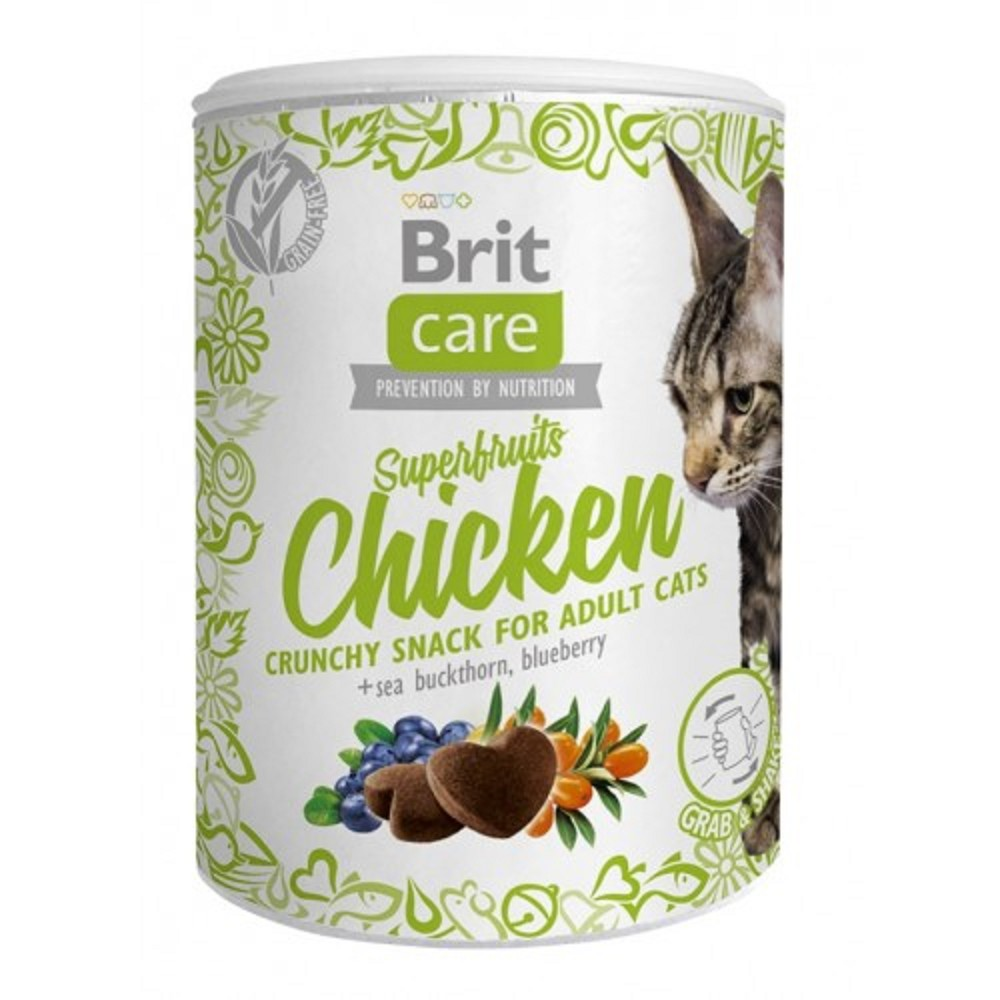 Brit care superfruits kuřecí 100g