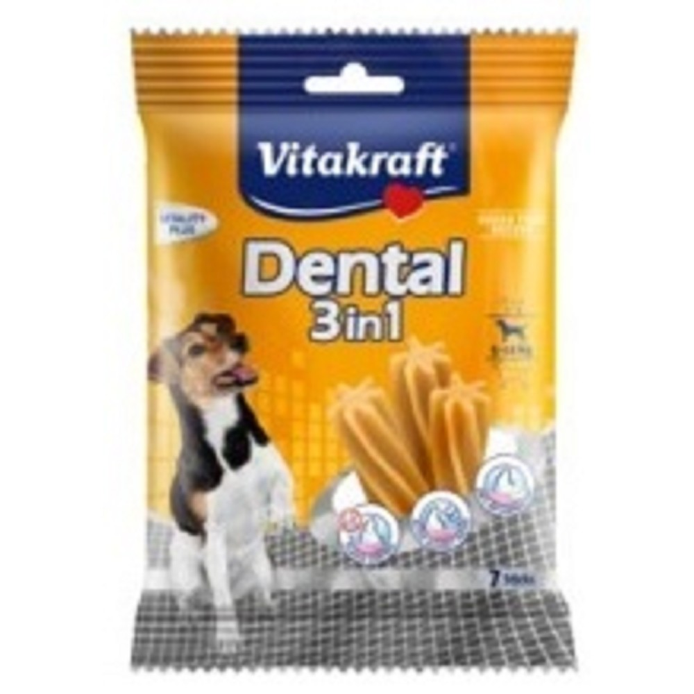 Vitakraft dental sticks 3v1  S 120g