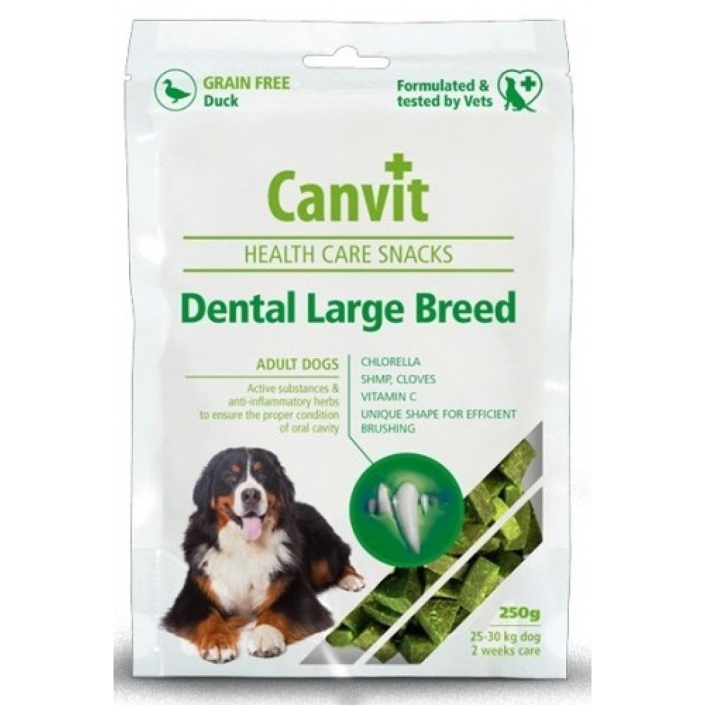 Canvit dental LB kachna 250g