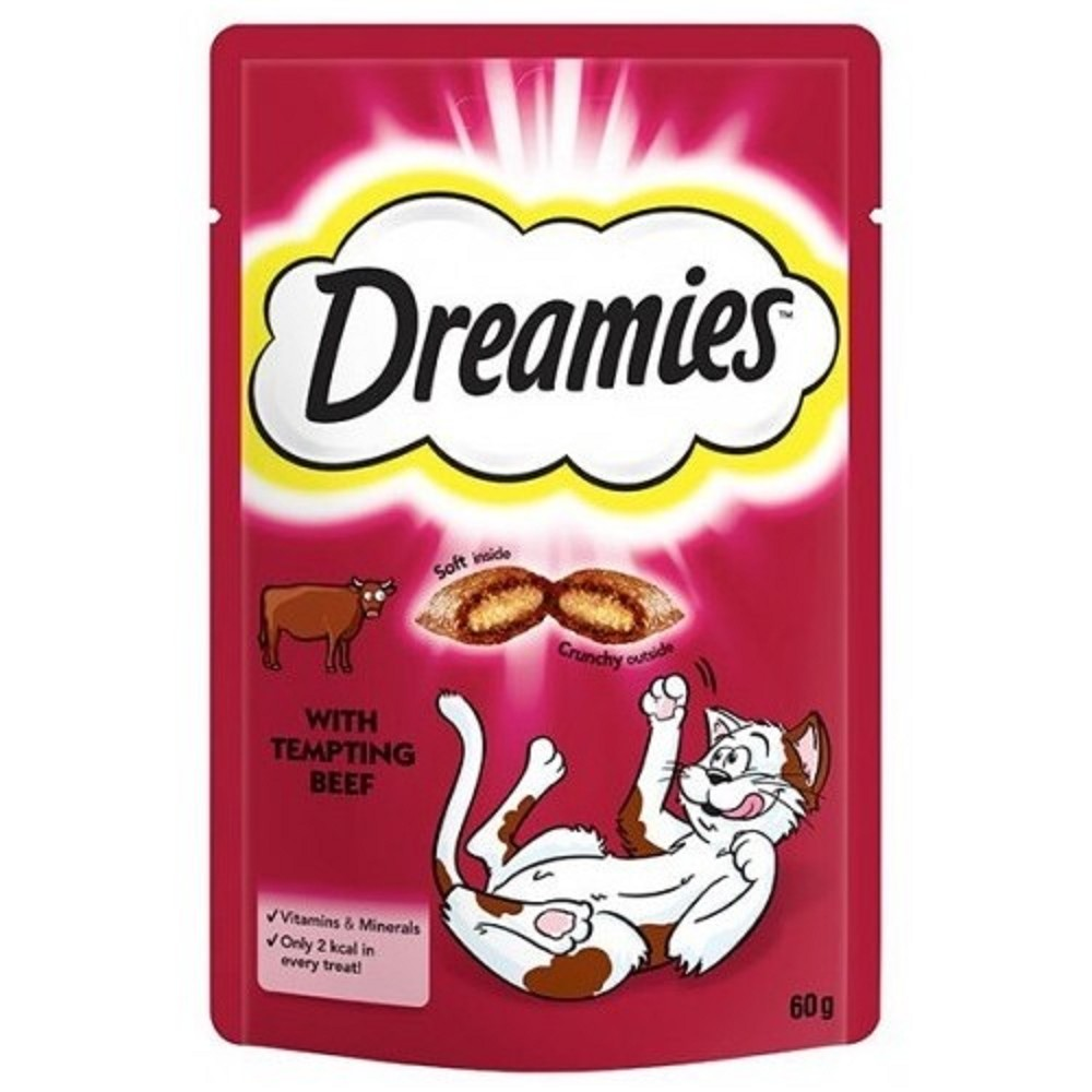 Dreamies cat hovězí 60g