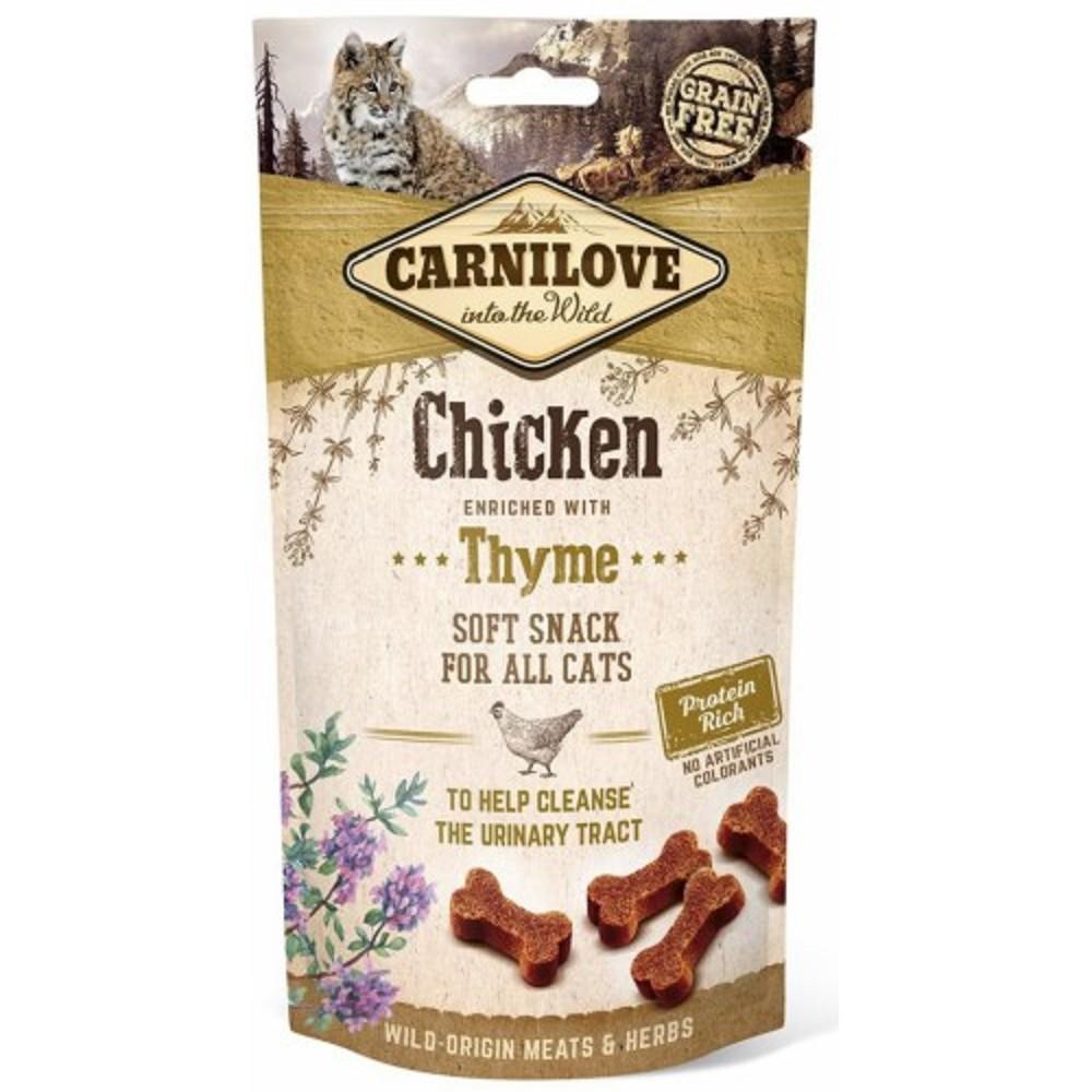 Carnilove kuřecí s tymiánem na močové cesty 50g