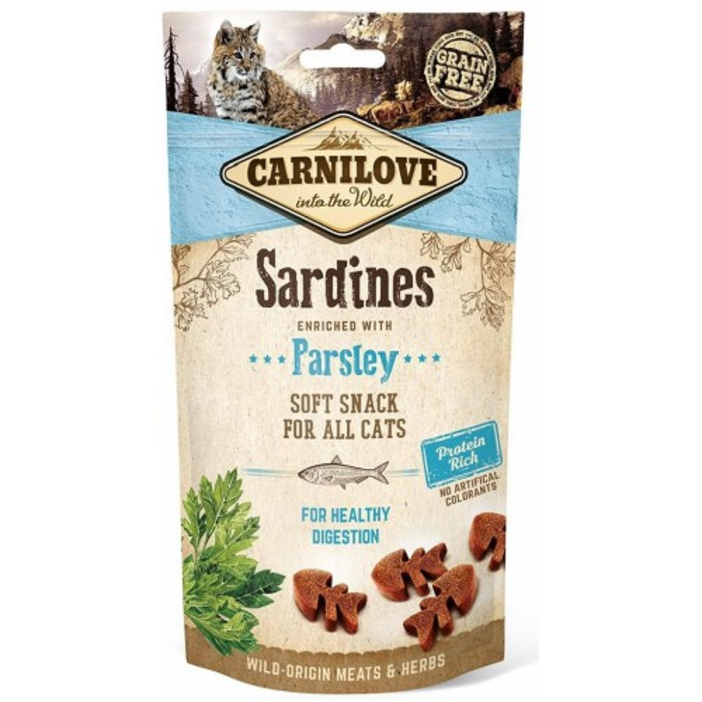 Carnilove sardinky s petrželí pro zdravé trávení 50g