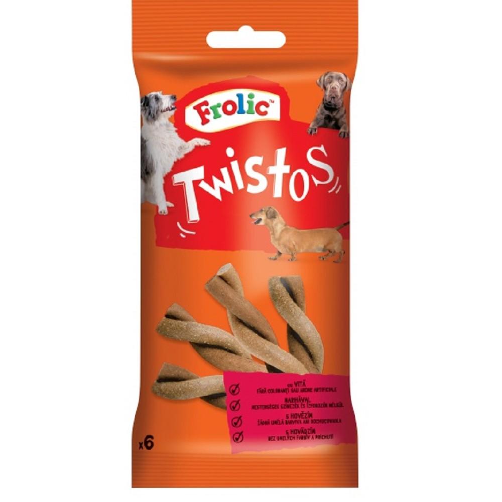 Frolic Twistos hovězí 105g