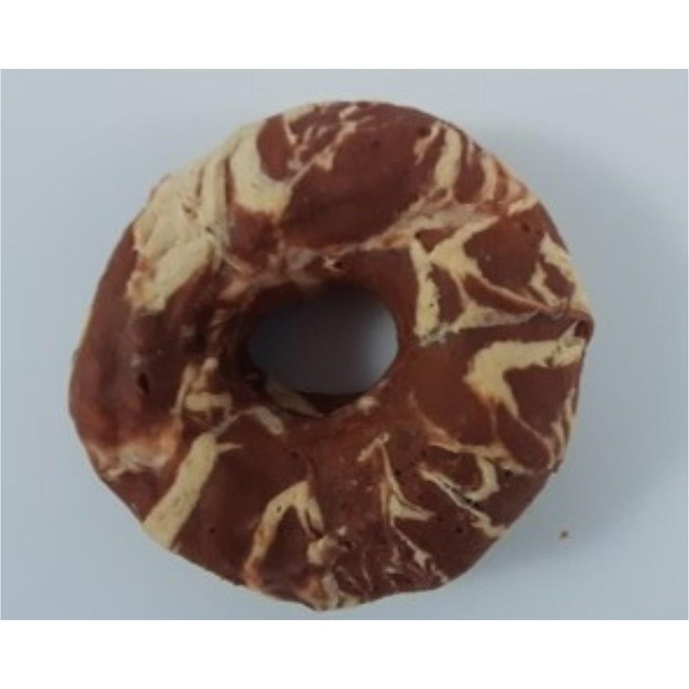 Kroužek z buvolí kůže s kachním masem - 1ks