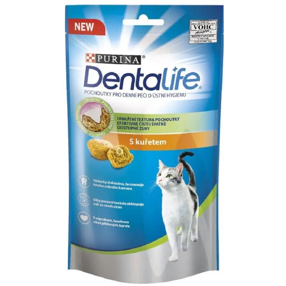 Purina Dentalife Cat - kuřecí 40g