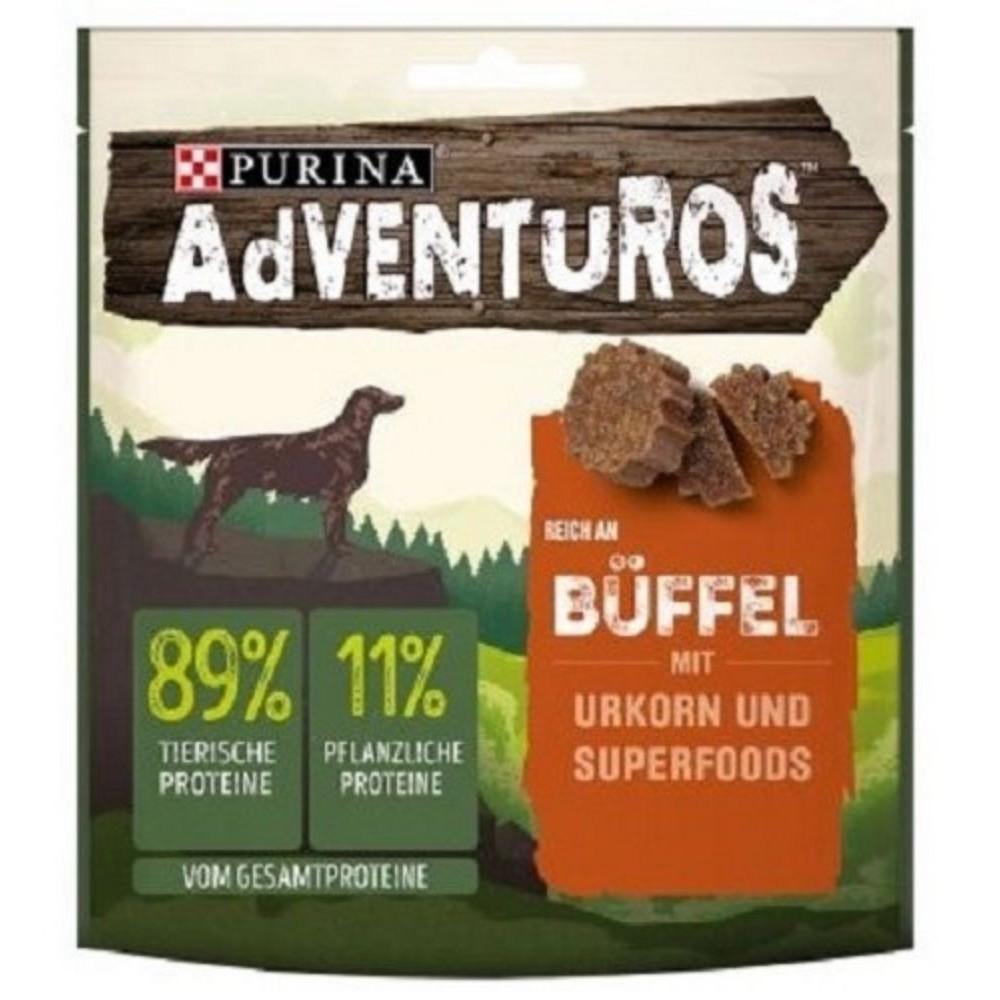 Adventuros bizon s brusinkovou šťávou 90g