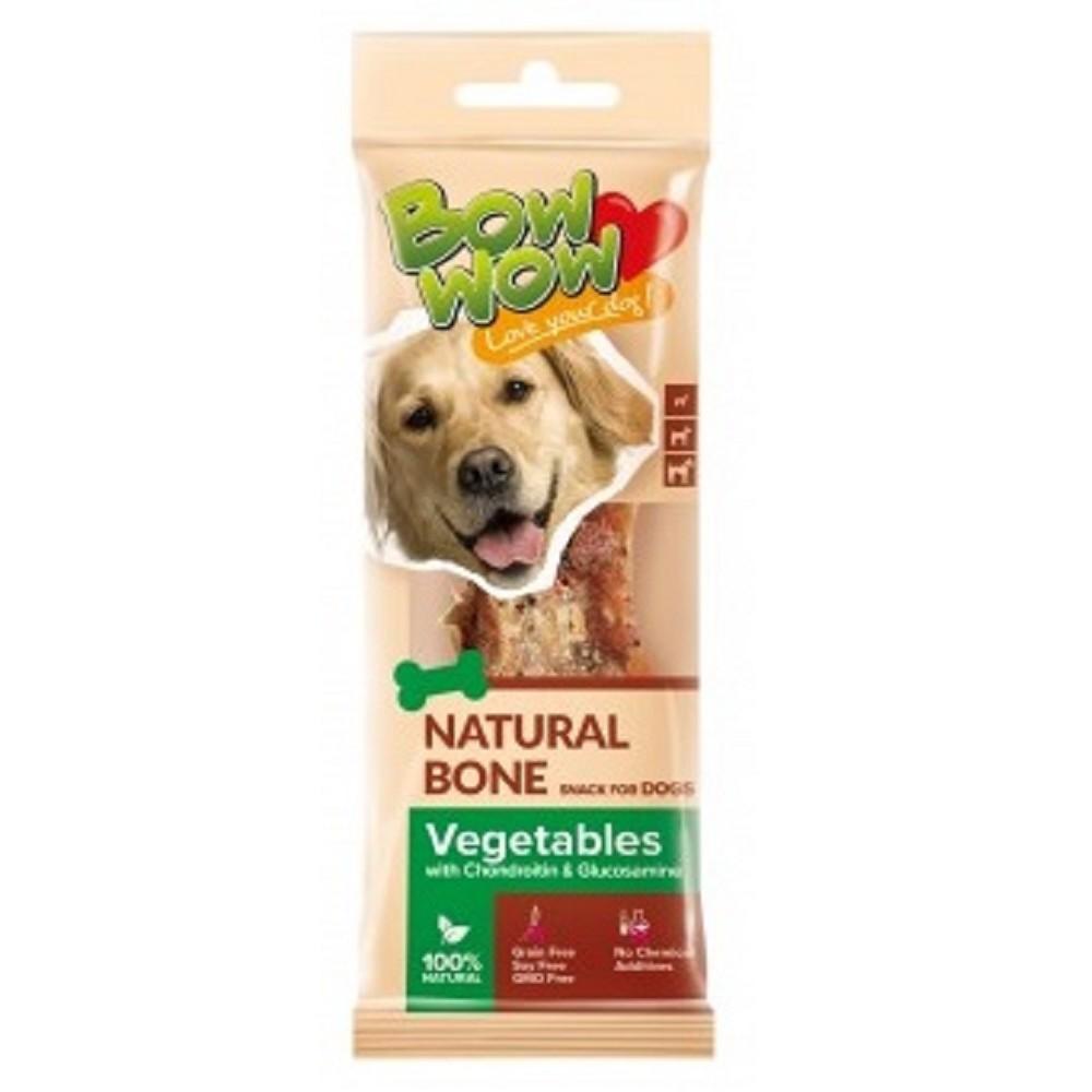 Naturální kost se zeleninou + chondriotin 1ks