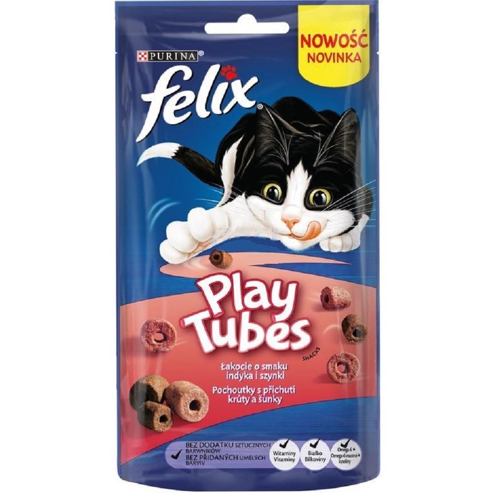 Felix Play Tubes - krůta a šunka 50g