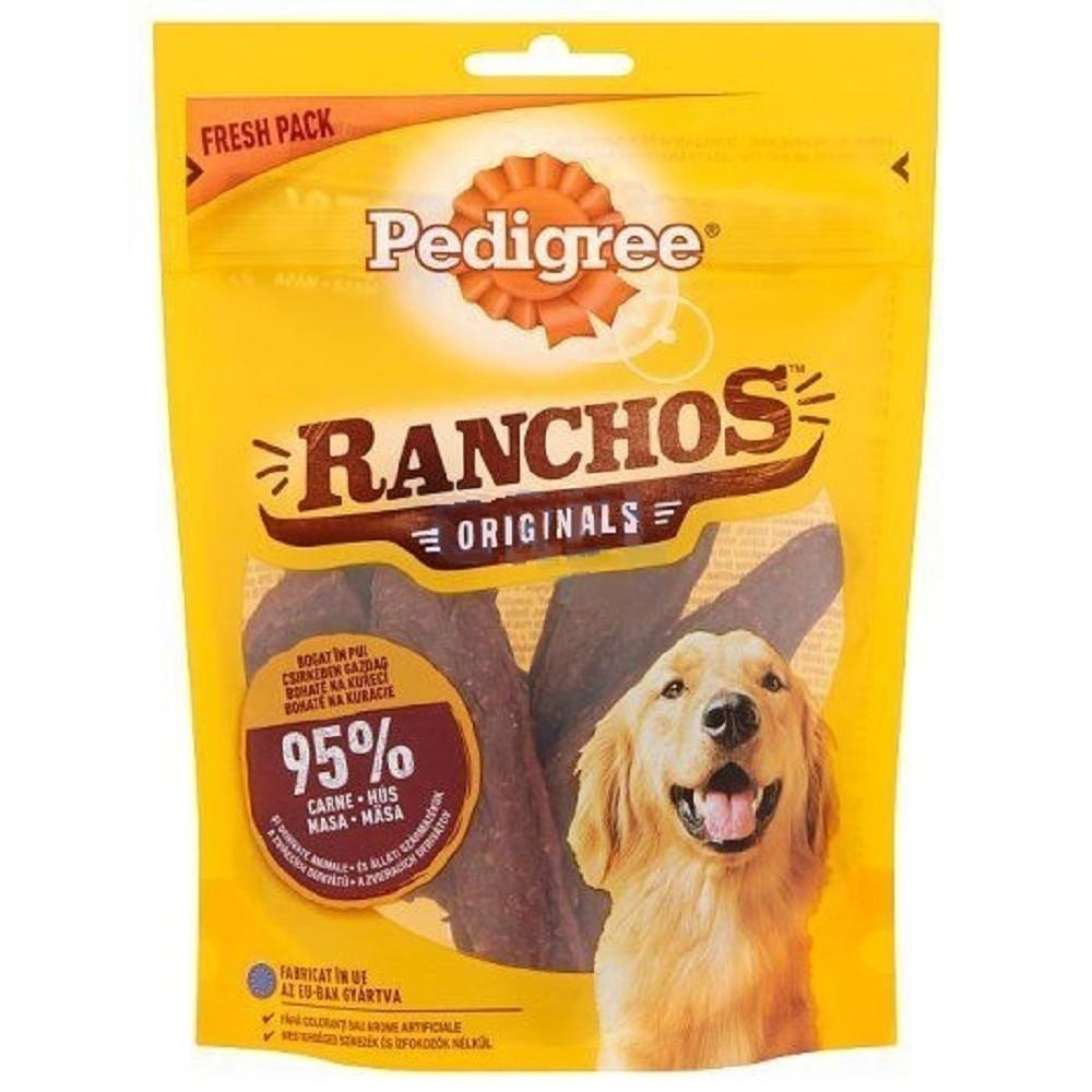 Pedigree Ranchos drůbeží 70g