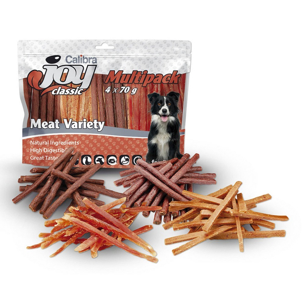 Calibra Joy Dog Multipack pásky 4x70g