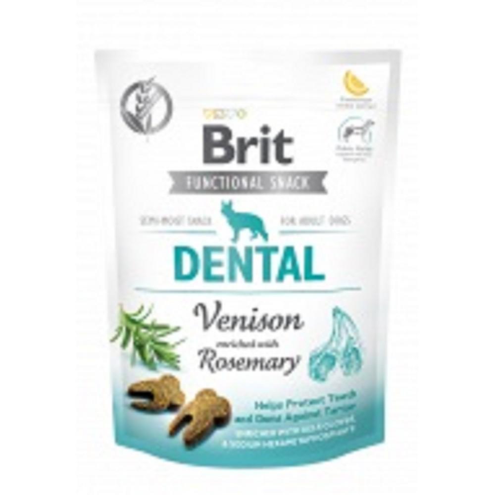 Brit care dentální kousky s zvěřinou 150g