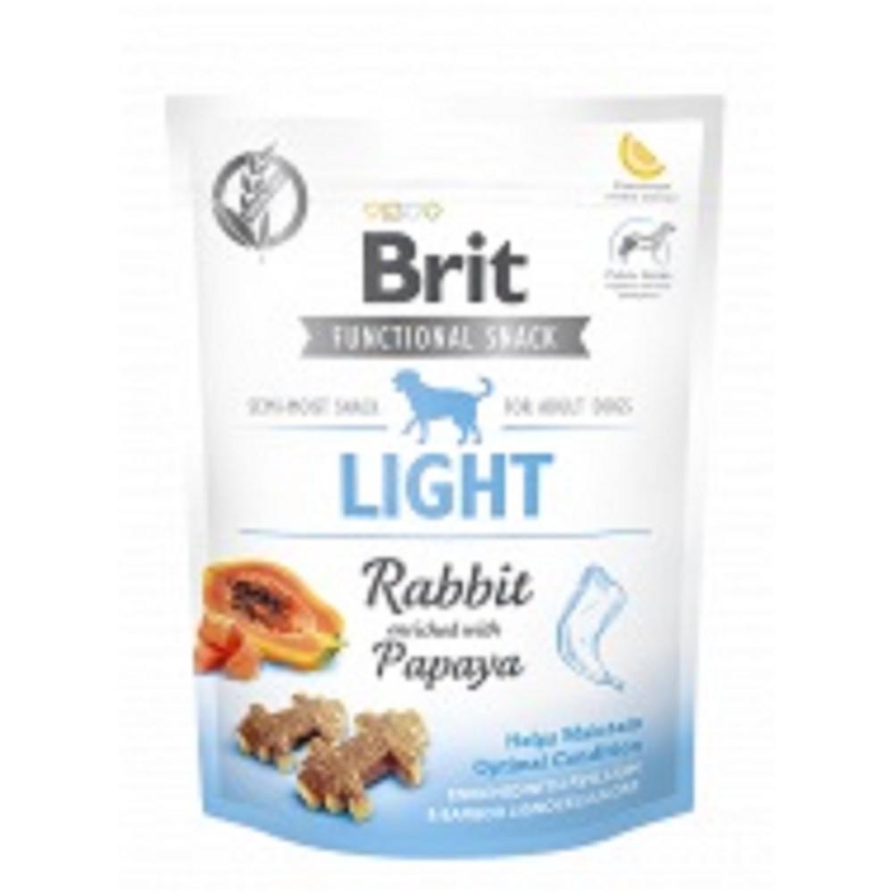 Brit care light pamlsek s králíkem 150g