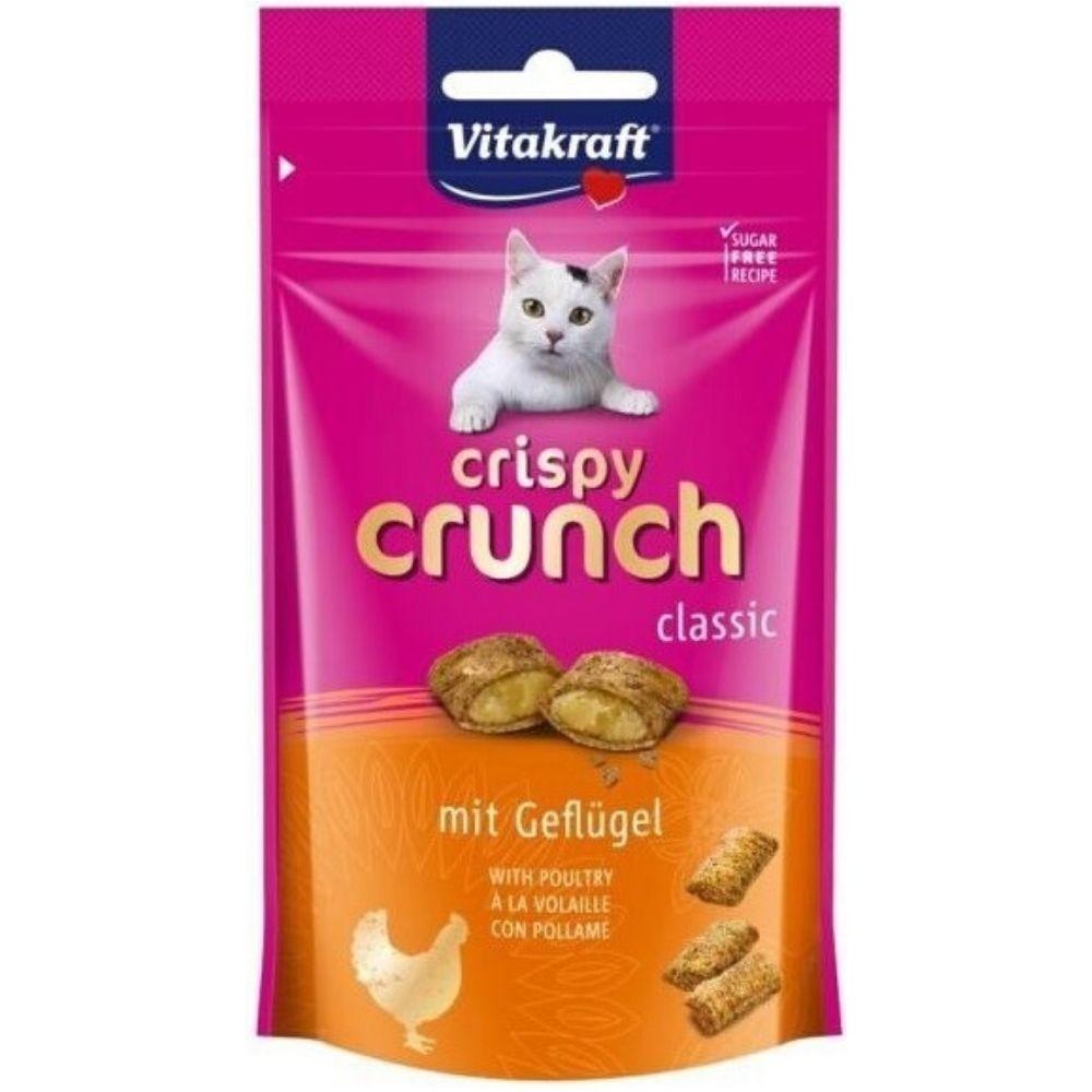 Vitakraft crispy crunch - drůbež 60g