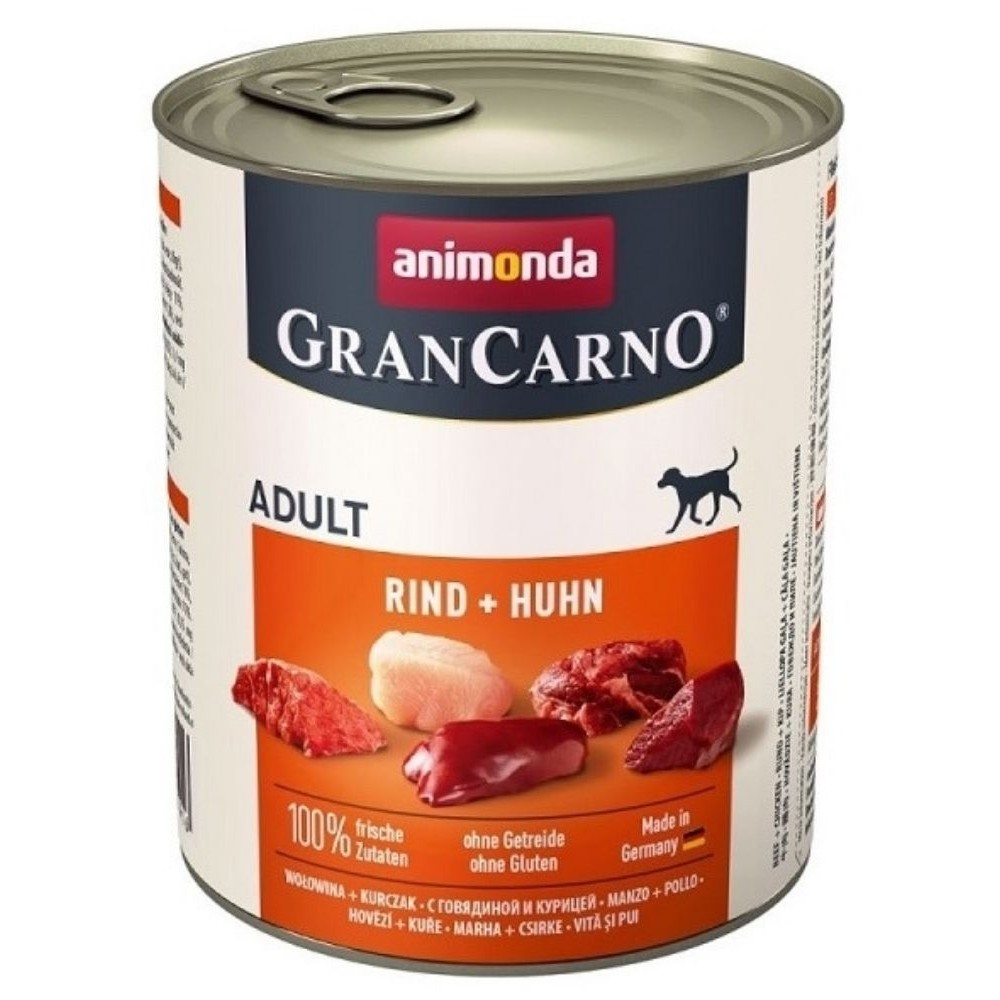 Animonda Gran Carno Adult hovězí & Kuře 800 g