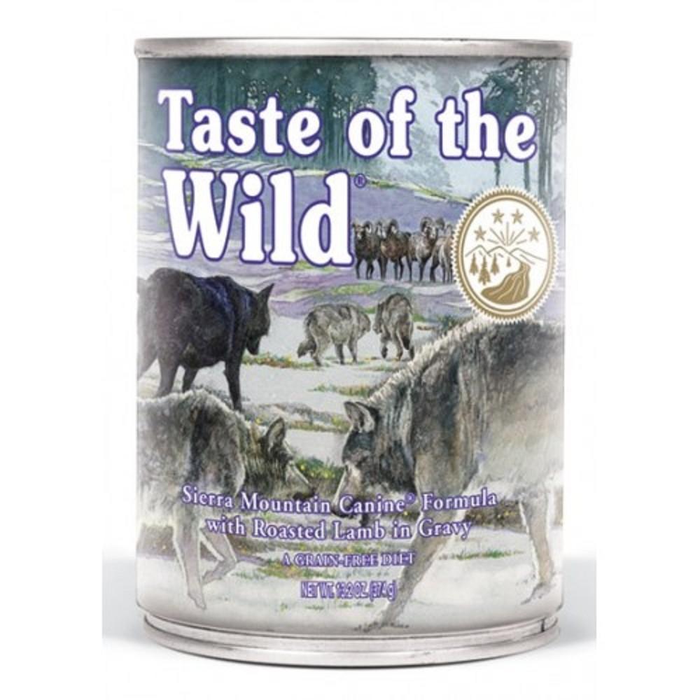 Taste of the wild pečené jehněčí 390g