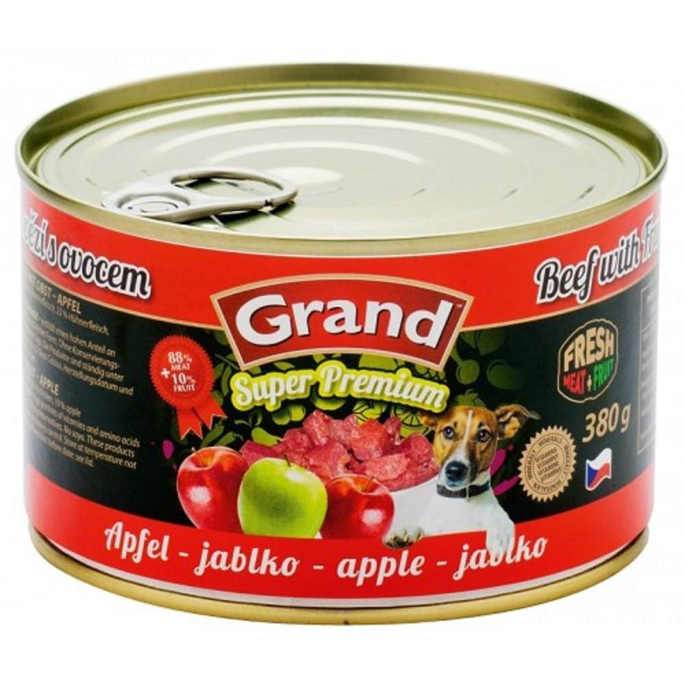 Grand hovězí s jablkem 380g