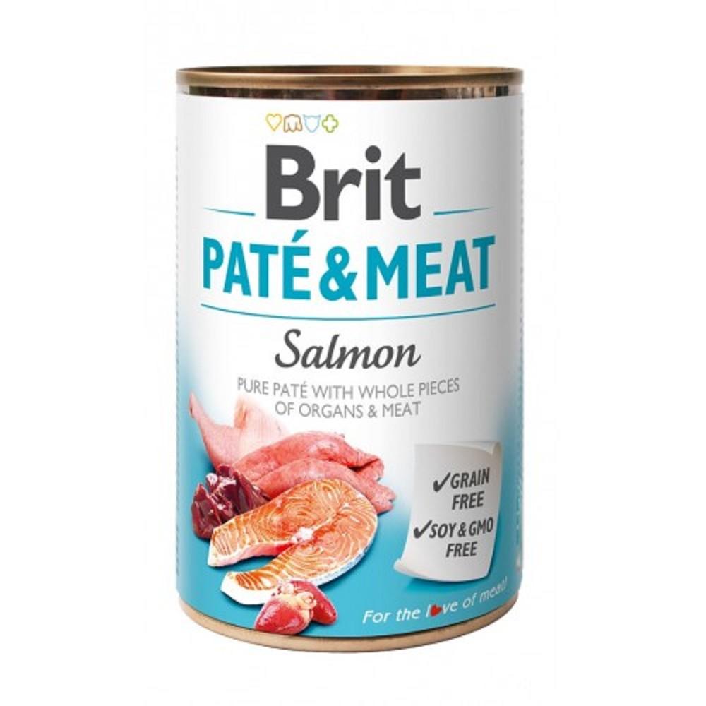 Brit Paté Meat losos 400g