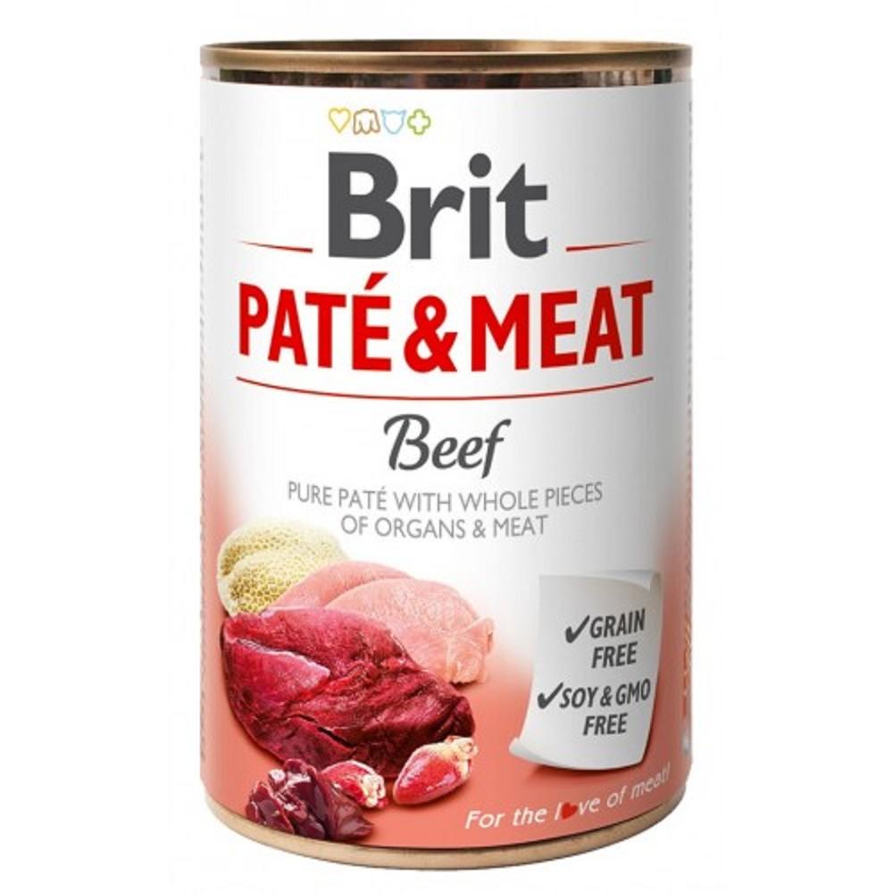 Brit Paté Meat hovězí 400g
