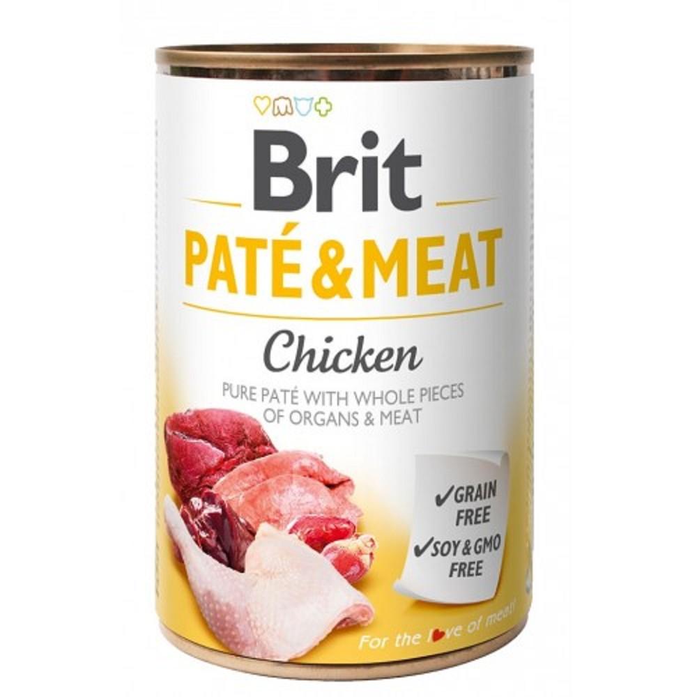 Brit Paté Meat kuřecí 400g