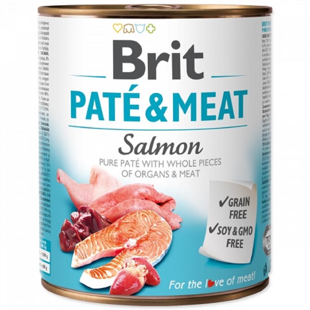 Brit Paté Meat - losos 800g