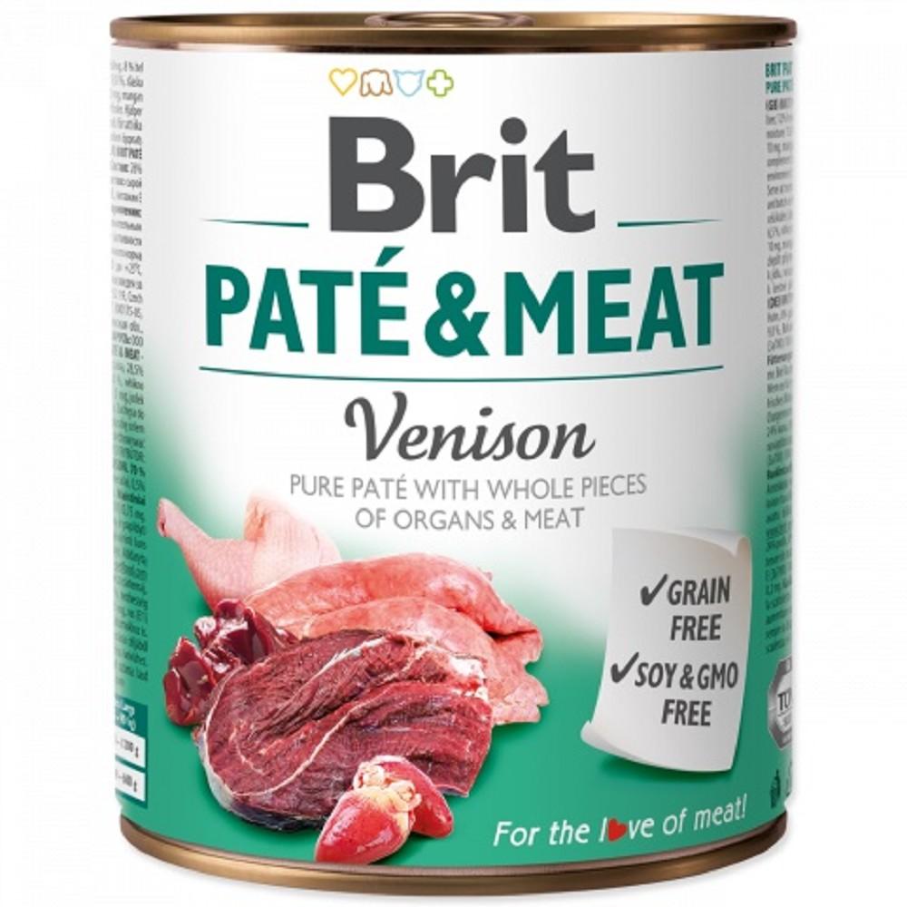 Brit Paté Meat - zvěřina 800g