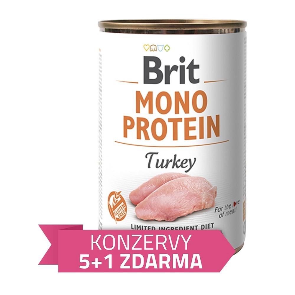 Brit Mono Protein Krůta 400g - 5+1 zdarma