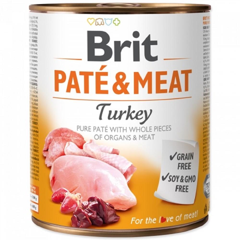 Brit Paté Meat - krůta 800g