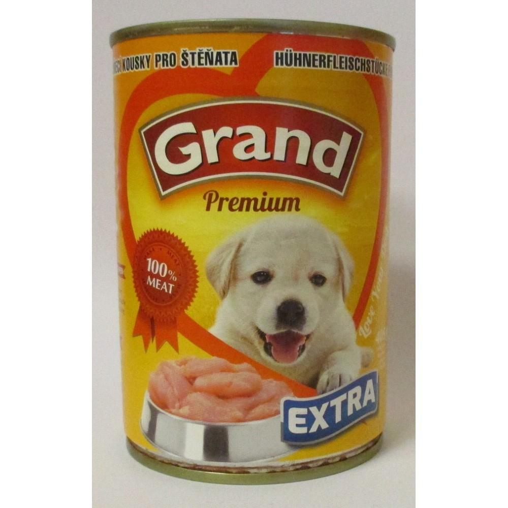 Grand extra kuřecí pro štěně 405g
