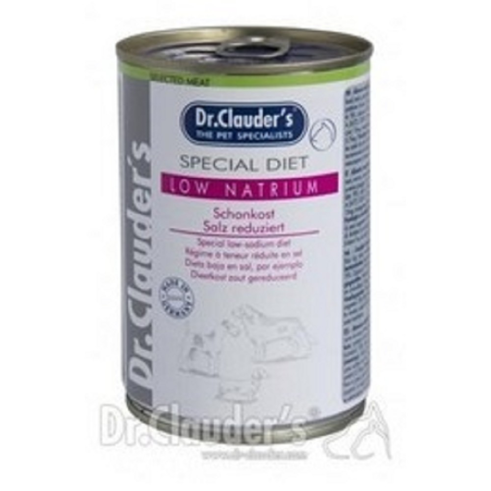 Dr.Clauders s nízkým obsahem sodíku a draslíku 400g