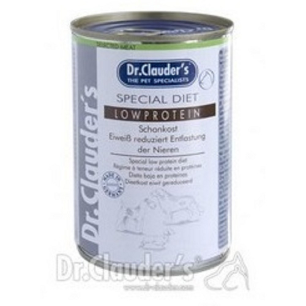 Dr.Clauders s nízkým obsahem bílkovin (dietní) 400g