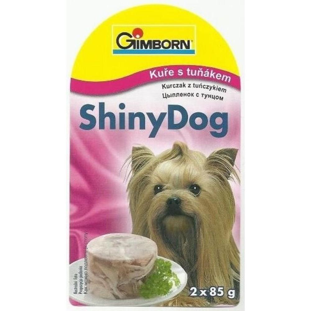 Shiny dog - kuře s tuňákem 2x85g