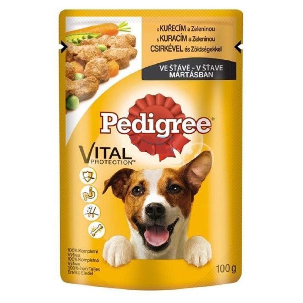 Pedigree kuřecí s zeleninou 100g