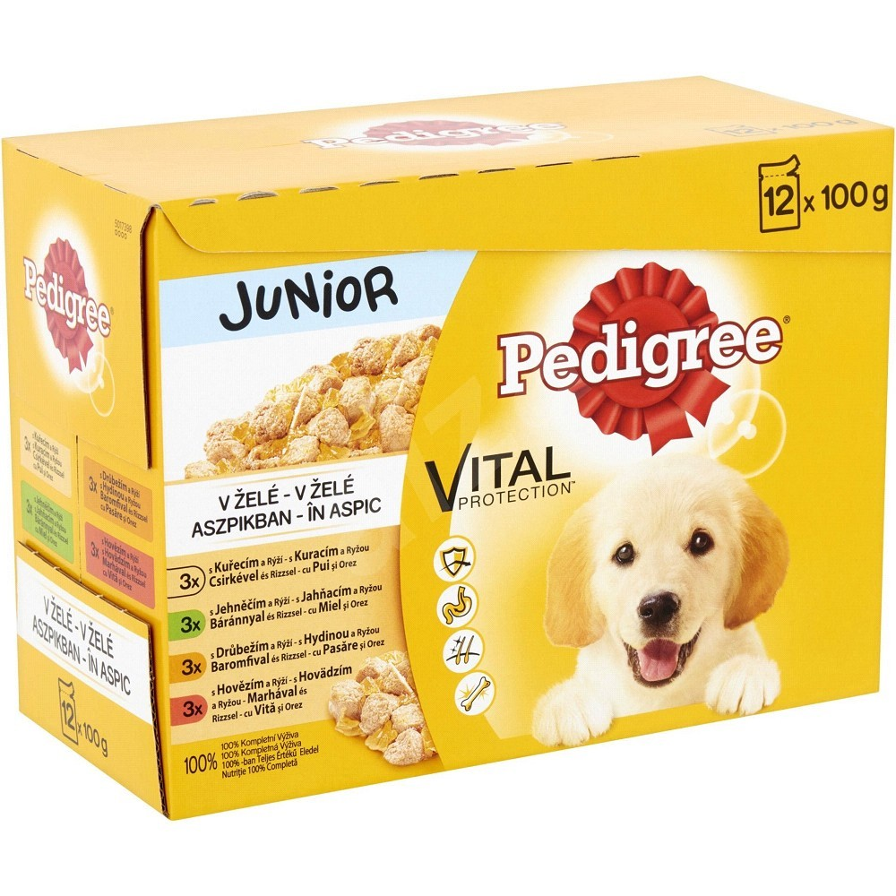 Pedigree junior mix multipack 12x100g