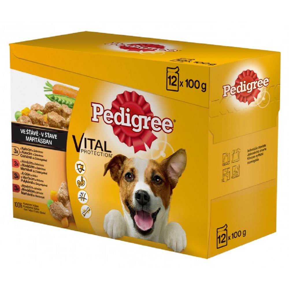 Pedigree mix multipack - 12x100g