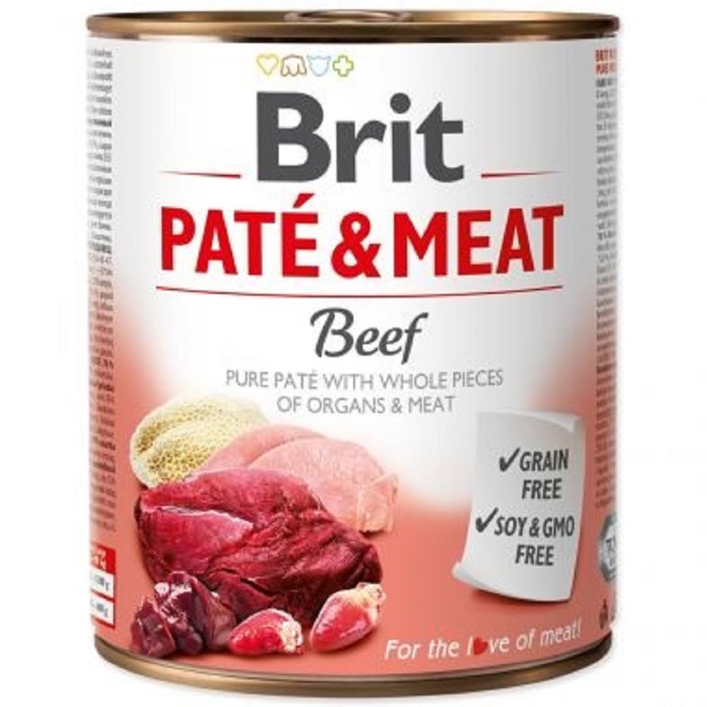Brit Paté Meat hovězí 800g