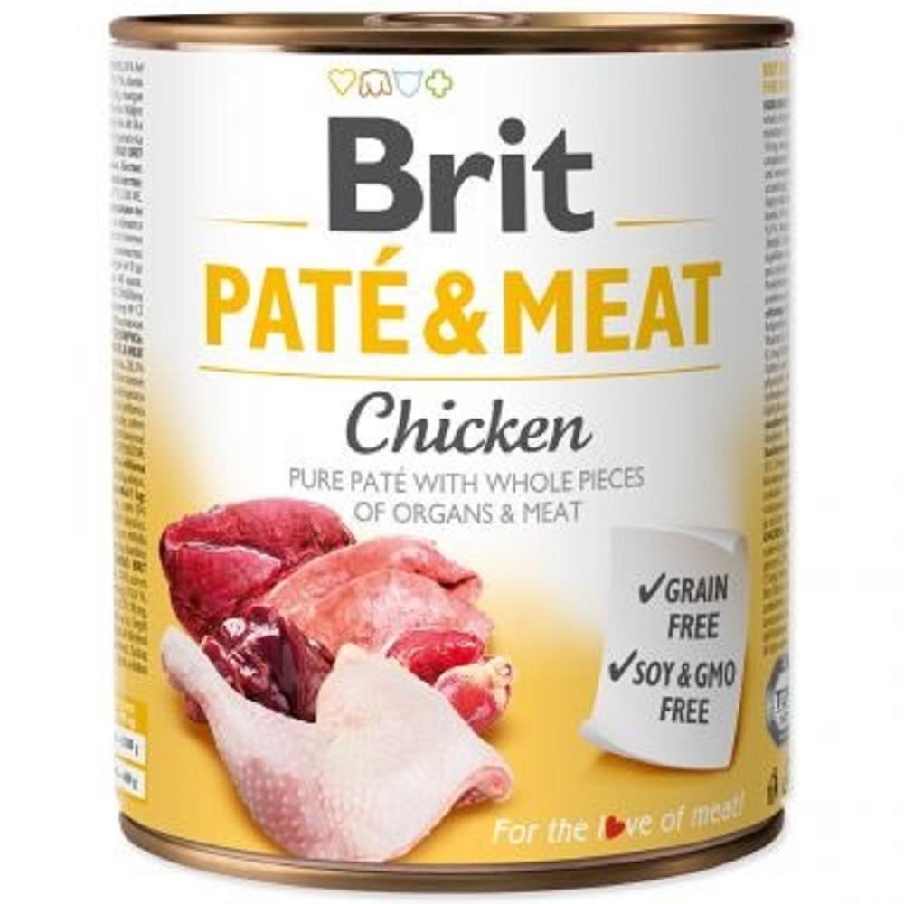 Brit Paté Meat kuřecí 800g