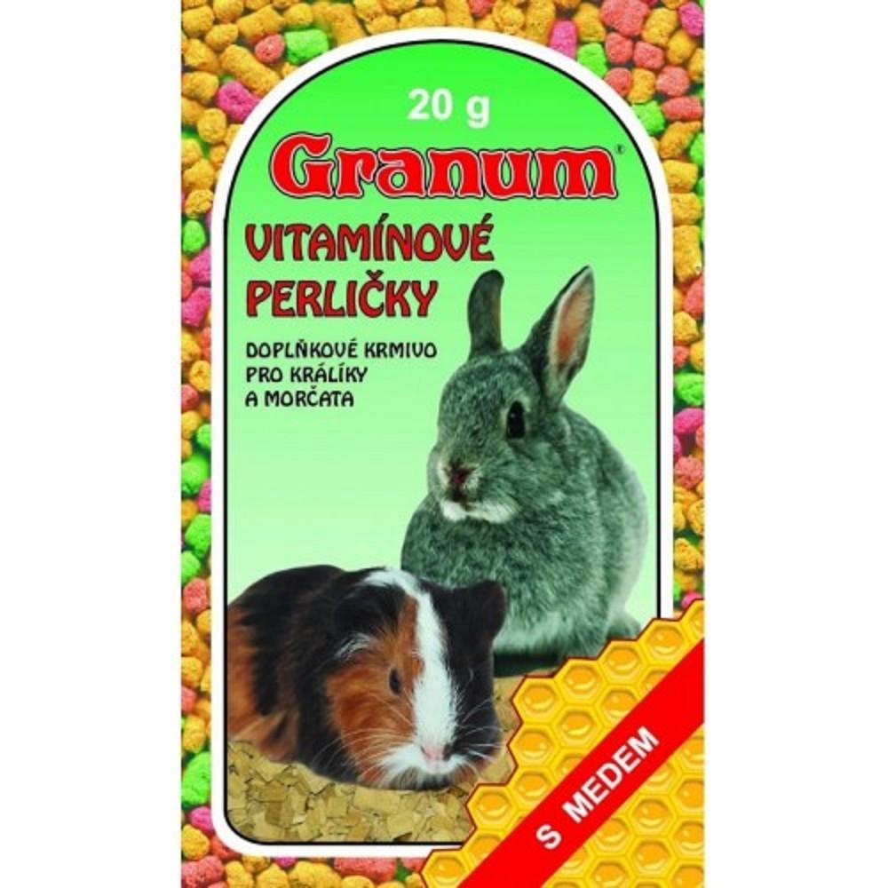 Vitamínové perle pro králíky a morčata 20g