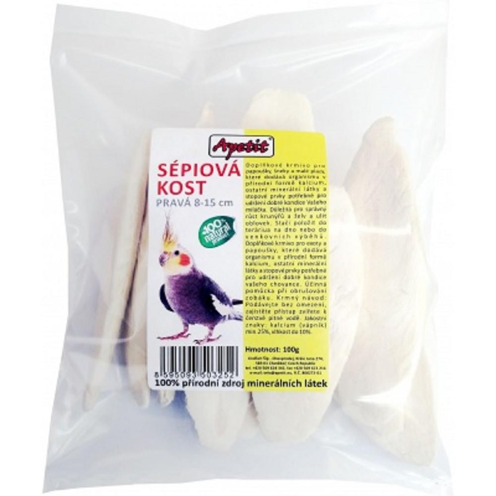 Sépiová kost 8-15cm pravá 100g