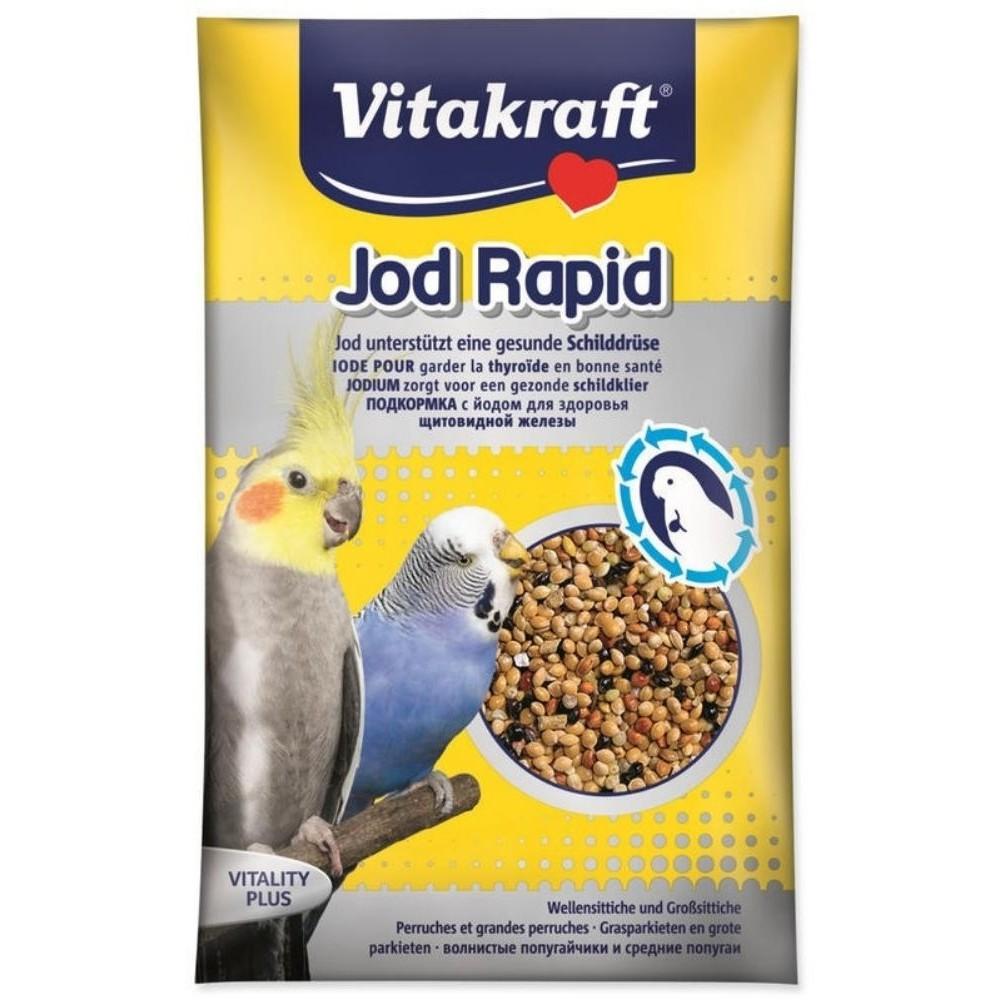 Vitamínové perle s jódem ptáci 20g