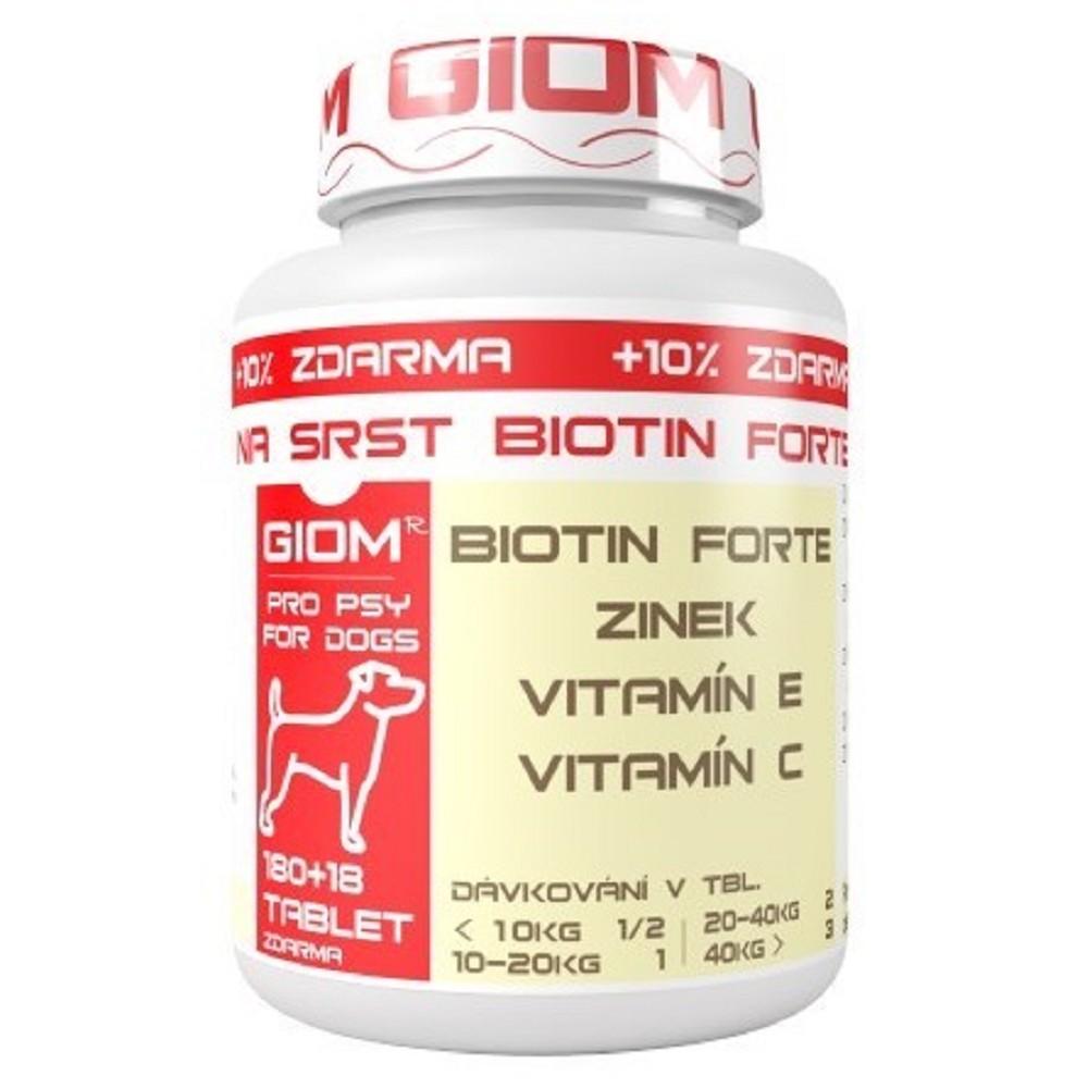 Giom ERA biotin na srst v tabletách 180tab.
