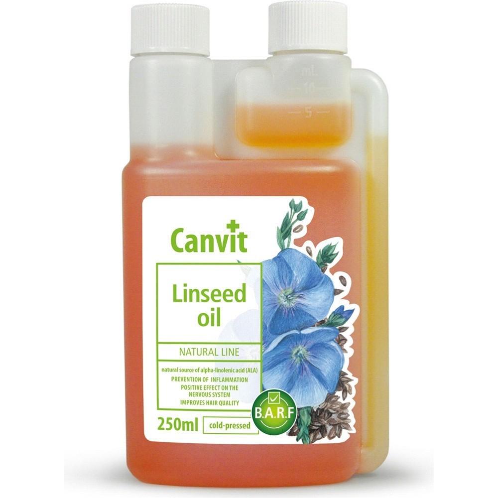 Canvit lněný olej přírodní 250ml