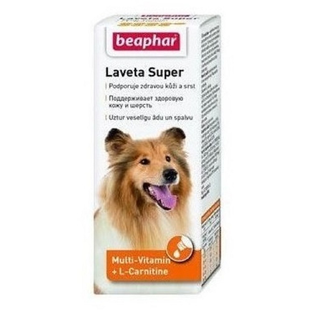Laveta Super Multi-Vitamin + L-Carnitine 50ml