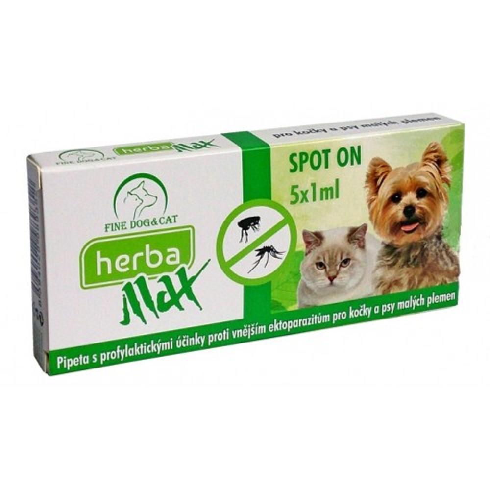 Herba Max spot on  5x1ml